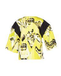 KENZO - Yellow Blouse - Lyst