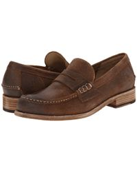 Frye - Brown Greg Leather Penny - Lyst
