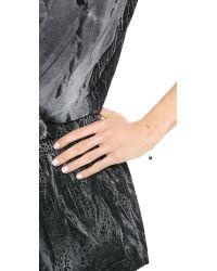Ginette NY - Metallic Mini Straw Bracelet - Lyst