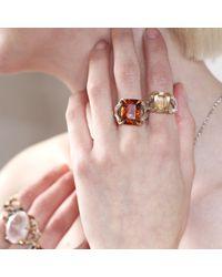 Tessa Metcalfe - Metallic Antique Citrine Claws Of Engagement - Lyst
