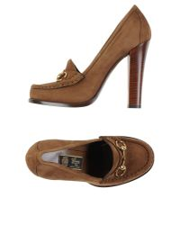Gucci | Brown Moccasins | Lyst