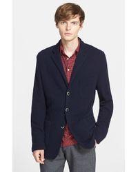 Barena - Blue 'brado' Sweater Jacket for Men - Lyst