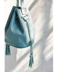 Silence + Noise - Green Simple Bucket Bag - Lyst