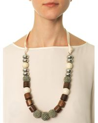 Weekend by Maxmara - Brown Navona Necklace - Lyst