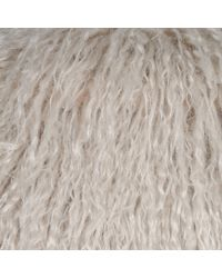 Stella McCartney - Metallic Fur Free Fur Thelma Coat - Lyst