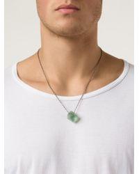 Joseph Brooks | Green Boulder Opal Pendant Necklace | Lyst