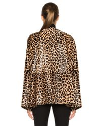 ThePerfext Multicolor Madison Calf Hair Cape