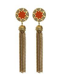 House of Harlow 1960 | Pink Sunburst Tassel Earrings | Lyst