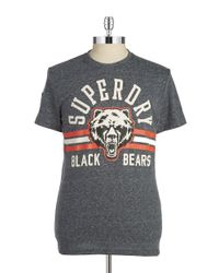 Superdry | Black Bears Tee for Men | Lyst