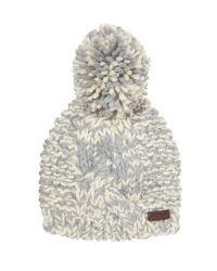 Barbour | Gray Clyde Bobble Hat | Lyst