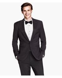 H&M Black Dinner Jacket for men