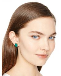kate spade new york - Blue Symphony Sparkle Statement Stud Earrings - Lyst