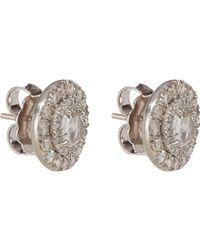 Irene Neuwirth | Metallic Women's Diamond Circular Studs | Lyst