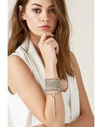 Forever 21 Metallic Haati Chai Fallon Bracelet