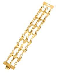 Diane von Furstenberg | Metallic Midnight Kiss Link Bracelet | Lyst