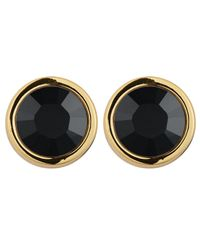 Dyrberg/Kern | Black Noble Solitaire Earrings | Lyst