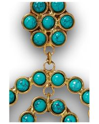 Sylvia Toledano | Blue Turquoise Flower Earrings | Lyst