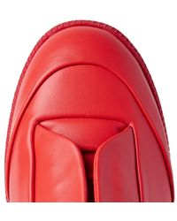 Maison Margiela - Red Future Low-top Sneaker for Men - Lyst