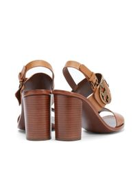 Tory Burch Brown Thames Sandal