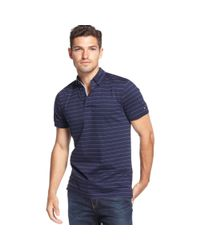 Tommy Hilfiger Blue Morningside Striped Customfit Polo for men