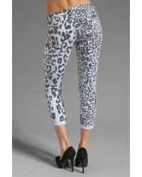 Hudson Jeans Black 'animal Instincts' Trousers