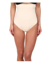 Yummie By Heather Thomson - Natural Brill High Waist Thong - Lyst