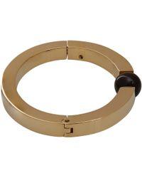 Chloé - Metallic Gold-Tone Crystal Darcy Sphere Bracelet - Lyst