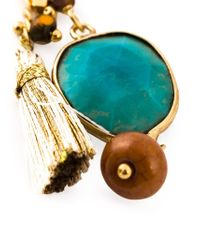 Gas Bijoux - Blue 'serti Pondichery' Earrings - Lyst