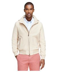 Brooks Brothers - Natural Three-season Bomber for Men - Lyst
