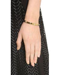 Elizabeth and James Metallic Jo Cuff Bracelet - Gold