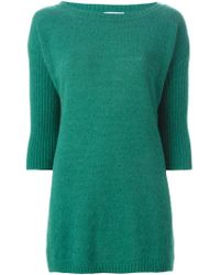 Societe Anonyme - Green 'new Soft' Sweater - Lyst