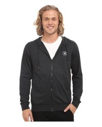 Hurley - Black Dri-fit League Zip Fleece for Men - Lyst