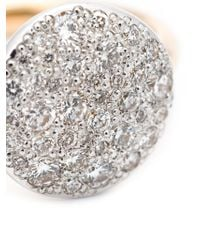 Pomellato | Metallic Diamond Pavé Ring | Lyst