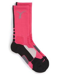 Nike | Pink 'hyper Elite' Dri-fit Basketball Socks | Lyst