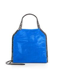 Stella McCartney | Blue Mini Baby Bella Shoulder Bag | Lyst