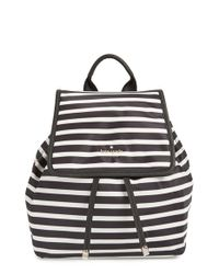 kate spade new york Black 'molly' Nylon Backpack