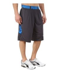 PUMA | Gray Mixed State Shorts Ii for Men | Lyst