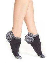 Zella - Blue Tab Back Running Socks - Lyst