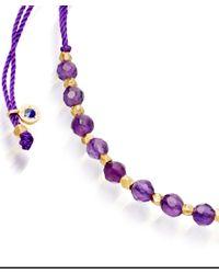Biography | Purple Amethyst Skinny Bracelet | Lyst