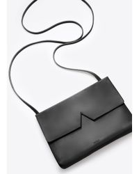 Vince Black Signature Collection Baby Crossbody