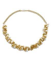 Alighieri | Metallic Gold Pearl La Calliope Necklace | Lyst