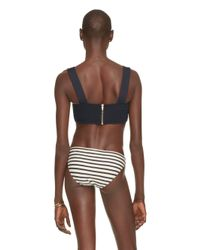 kate spade new york - Blue Nahant Shore Bralette With Underwire - Lyst