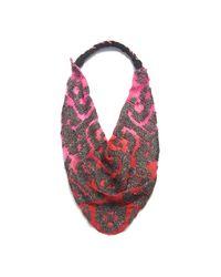 Roarke | Red/pink Ikat Dip Dye Necklace | Lyst