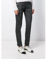 Viktor & Rolf - Gray Slim Fit Trousers - Lyst