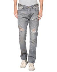 Raf Simons Gray Regular Jeans for men