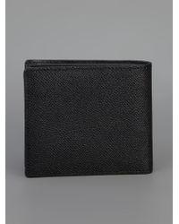 Burberry Black Branded Bi-fold Wallet for men