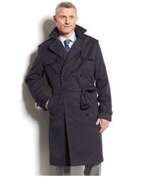 London Fog | Blue Plymouth Raincoat for Men | Lyst