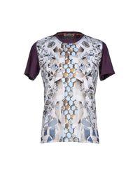 Basso & Brooke White T-shirt for men