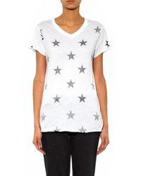 Zoe Karssen White Star-print T-shirt