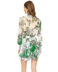 Just Cavalli - Multicolor Love Kimono Printed Dress - Multi - Lyst